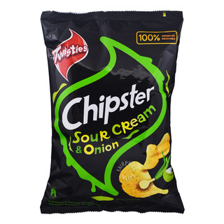 Twisties Chipster Potato Chips - Sour Cream & Onion