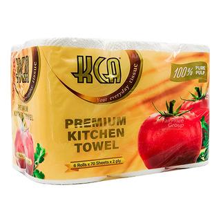 Kca Tissue Rolls Kitchen 6 X 70 Per Pack Fairprice Singapore