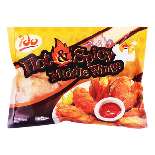 Ido Frozen Middle Wings - Hot & Spicy
