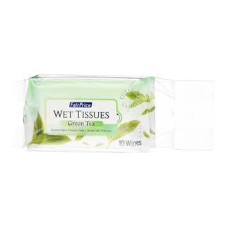 FairPrice Wet Tissues - Green Tea