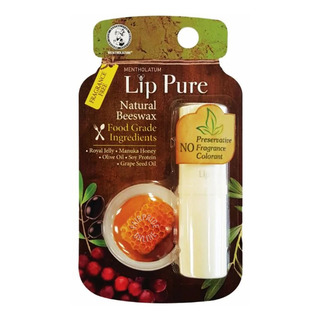 Mentholatum Lip Pure Lip Balm - Fragrance Free