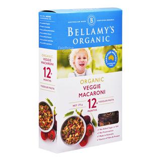 Bellamy's Organic Baby Pasta - Veggie Macaroni