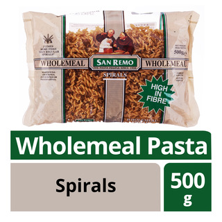 San Remo Wholemeal Pasta - Spirals