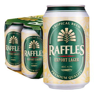 Raffles Export Lager Can Beer