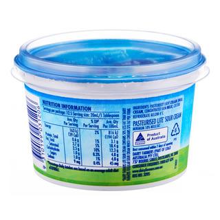 Dairy Farmers Sour Cream - Lite