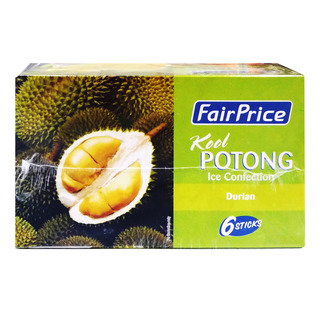 FairPrice Kool Potong Ice Cream - Durian