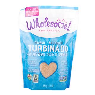 Wholesome Organic Granulated Sugar - Turbinado (Raw Cane)