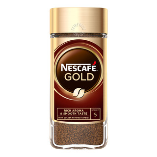 Nescafe Instant Soluble Coffee Jar - Gold