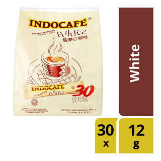 Indocafe Instant Coffee - White