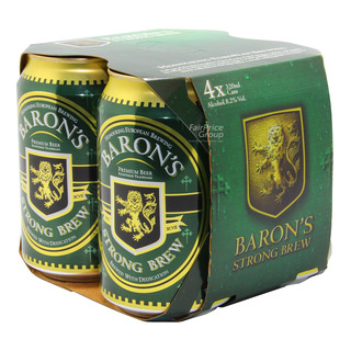 Baron S Can Beer Strong Brew Fairprice Singapore