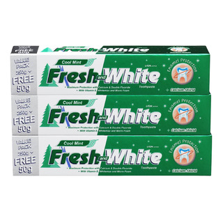 Fresh & White Toothpaste - Cool Mint