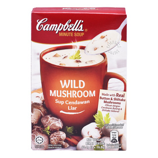 Campbell's Instant Soup - Wild Mushroom 3 x 16 8g| FairPrice