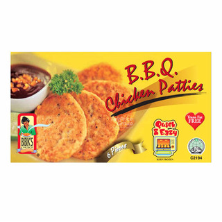 Bibik's Choice BBQ Chicken Patties