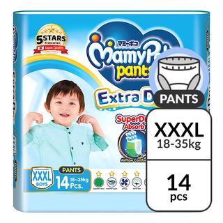 MamyPoko Extra Dry Skin Boy Pants - XXXL (18 - 35kg)