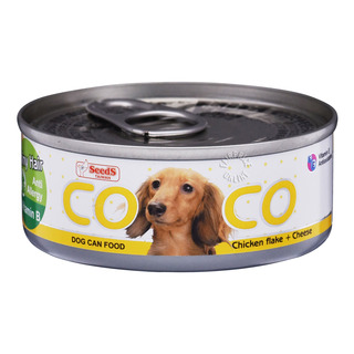 Coco Dog Can Food - Chicken Flake & Cheese