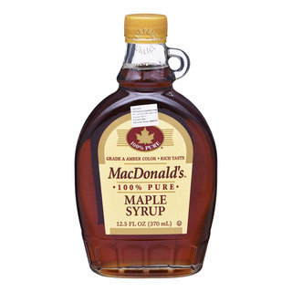MacDonald's 100% Pure Maple Syrup - Gade A Dark Amber