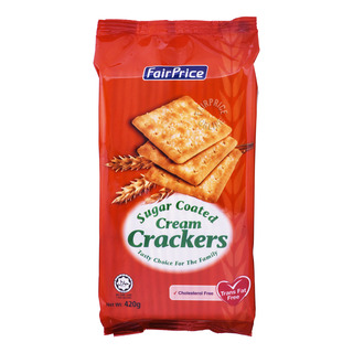 FairPrice Cream Crackers - Sugar Coated