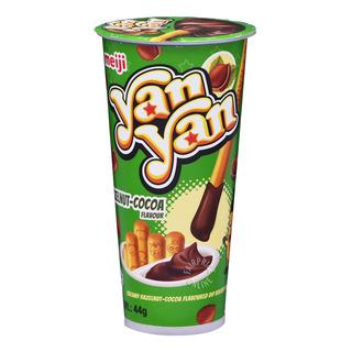 Meiji Yan Yan Stick Biscuits - Choco-Hazelnut