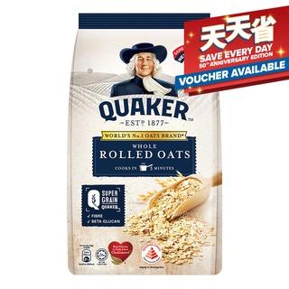 Quaker 100% Wholegrain Whole Rolled Oats