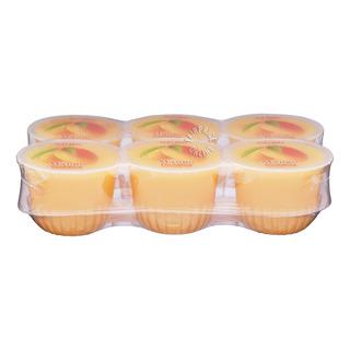 Naspac Pudding with Nata De Coco Cup - Mango