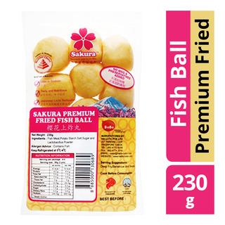Sakura Fish Ball - Premium Fried