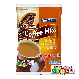 FairPrice 3 in 1 Instant Coffee Mix - Creamer & Sugar