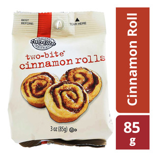 Two-Bite Cinnamon Roll