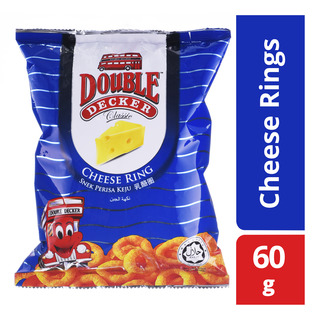 Double Decker Crackers - Cheese Rings