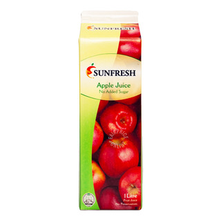 Sunfresh No Sugar Added Fruit Juice - Apple