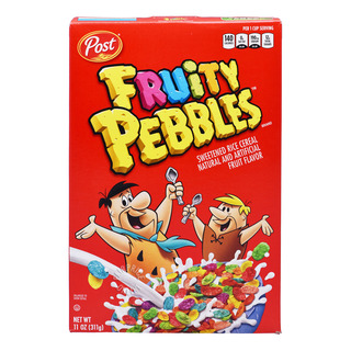 Post Sweetened Rice Cereal Fruity Pebbles 311g| FairPrice
