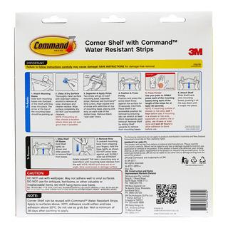 3M Command Corner Shelf