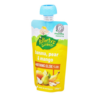 Rafferty's Garden Baby Food - Banana, Pear & Mango