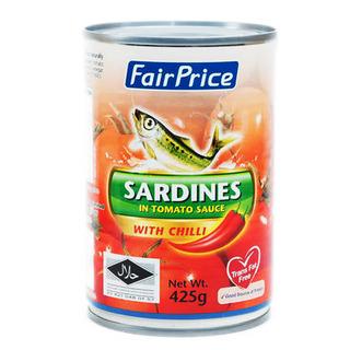 FairPrice Sardines in Tomato Sauce with Chili
