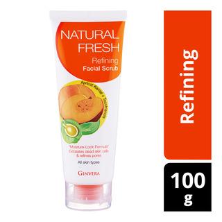 Ginvera Natural Fresh Facial Scrub - Refining