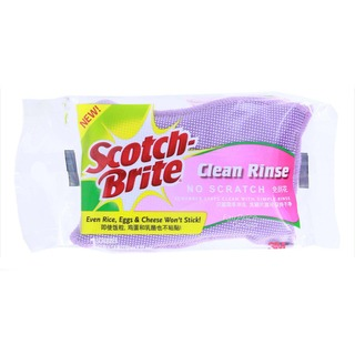 3M Scotch-Brite Scrubber - Clean Rinse (No Scratch)