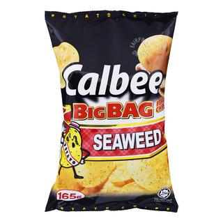 Calbee Big Bag Potato Chips - Seaweed