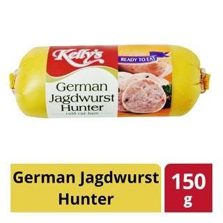 Kelly's Cold Cut Ham - German Jagdwurst Hunter