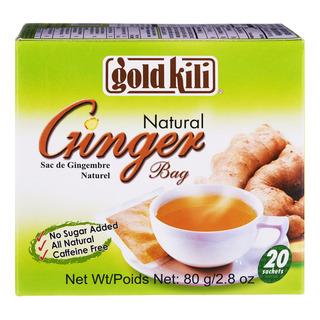 Gold Kili Natural Ginger Bag
