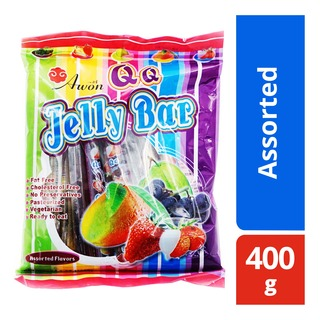 Awon QQ Jelly Bars - Assorted (Taiwan) 400g| FairPrice Singapore