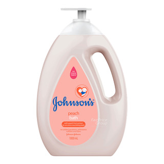 Johnson's Baby Bath Wash - Peach