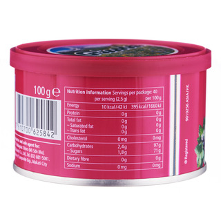 Ricola Natural Relief Swiss Herb Candy Tin - Blackcurrant