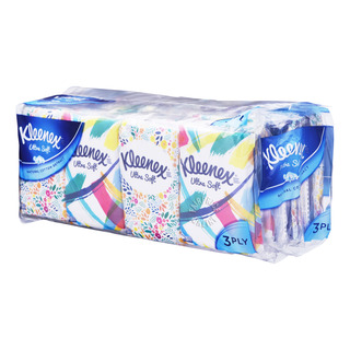 Kleenex Ultra Soft Pocket Tissues - Floral (3ply)