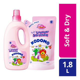 Kodomo Baby Laundry Softener with Refill