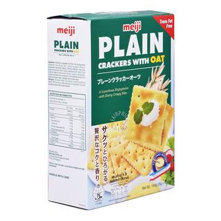 Meiji Plain Crackers - Oats