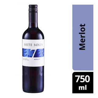 Siete Sole Red Wine - Merlot