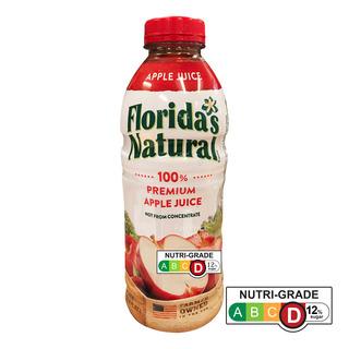 Florida's Natural 100% Fresh Bottle Juice - Apple