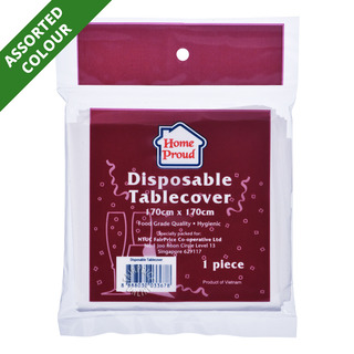 HomeProud Disposable Tablecover (170 x 170cm)