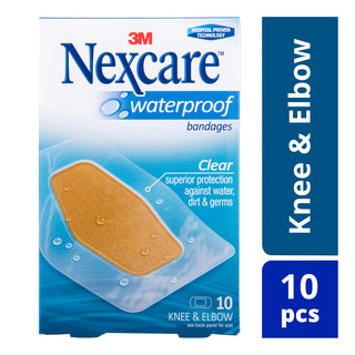 Nexcare Waterproof Bandages - Clear (6 x 8.8cm)