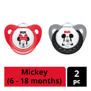 NUK Silicone Soother - Mickey (6 - 18 months)