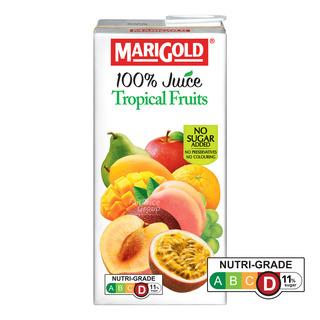 Marigold 100% Packet Juice - Tropical Fruits
